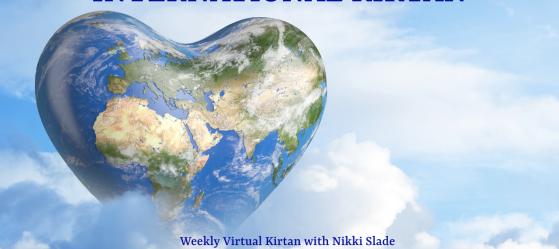 Shake Off the Dust International Kirtan with Nikki Slade